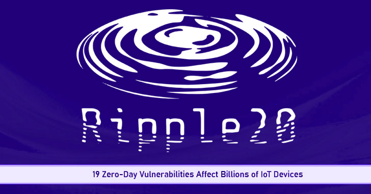 New Ripple20 Flaws Put Billions of Internet-Connected Devices at Risk of Hacking