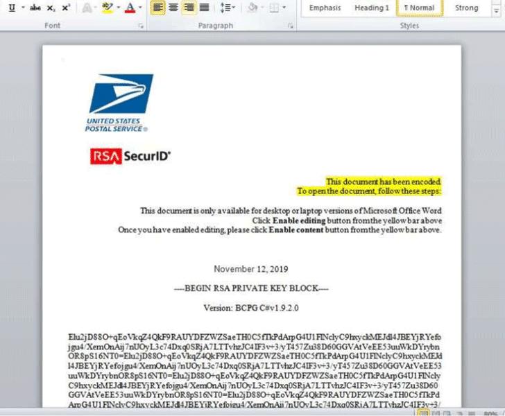 microsoft word macro malware