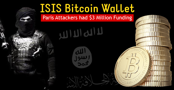 Hackers claim ISIS Militants linked to Paris Attacks had a Bitcoin Wallet worth $3 Million