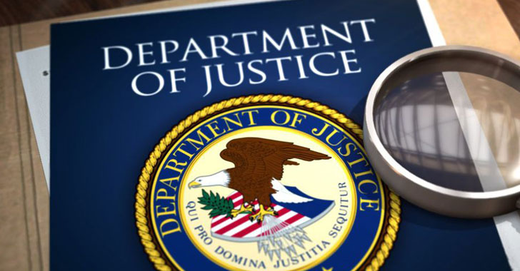 TheHackerNews - Solarwinds Hackers Also Accessed U.S. Justice Department'S Email Server