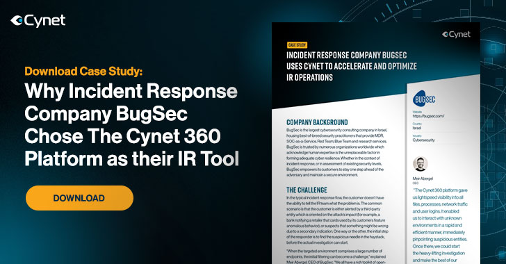 Cynet 360 Incident Response Software