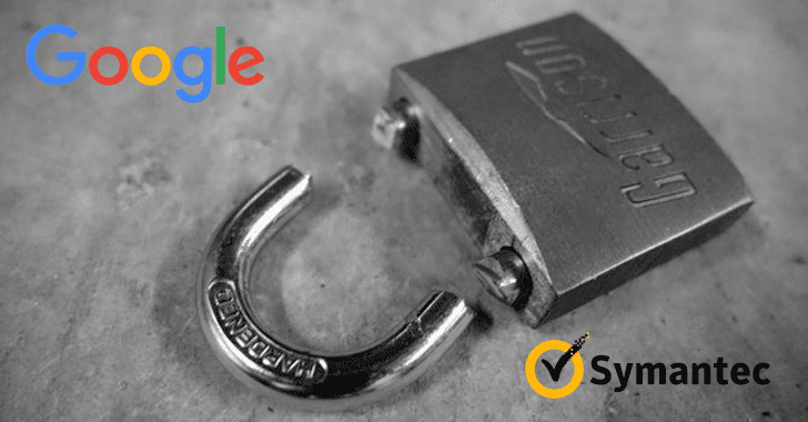 Google Chrome to Distrust Symantec SSLs for Mis-issuing 30,000 EV Certificates