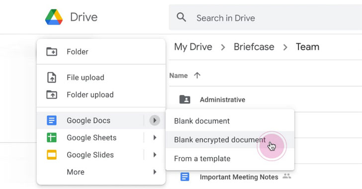 Google Workspace Now Offers Client-side Encryption For Drive and Docs