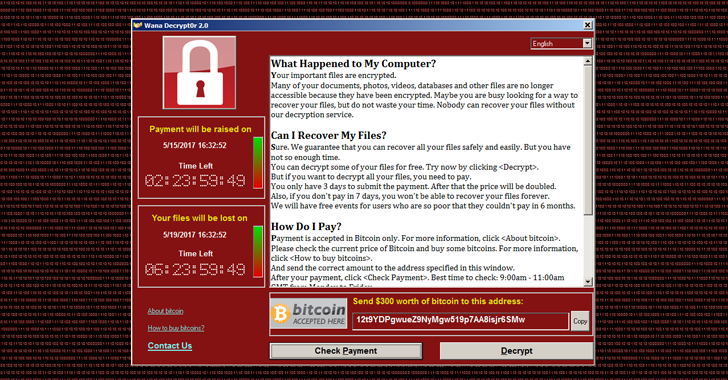 WannaCry Ransomware That's Hitting World Right Now Uses NSA Windows Exploit