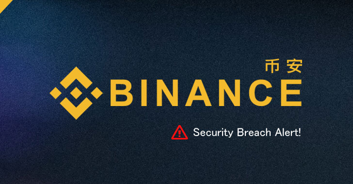 Binance cryptocurrency exchange hacked