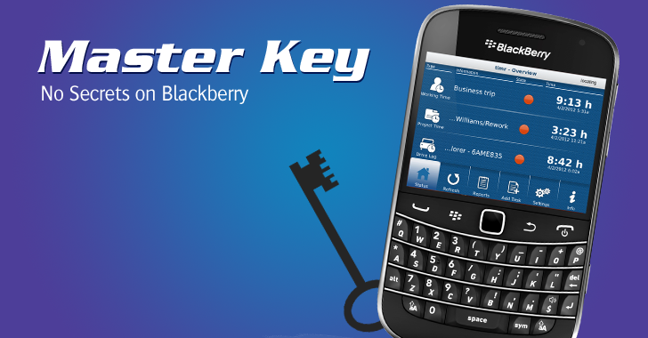 Canadian Police obtained Master Key to Crack BlackBerry Messenger Encryption