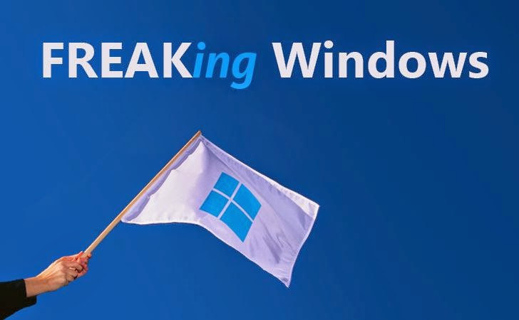Microsoft: All Windows versions Vulnerable to FREAK Vulnerability