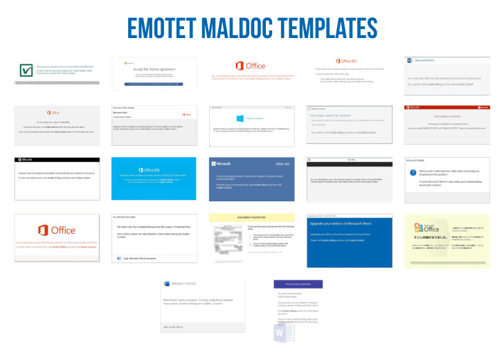 Emotet Banking Malware Template