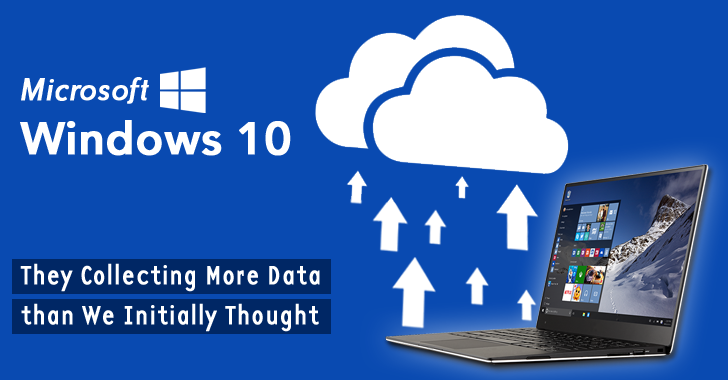 Microsoft Collecting More Data via Windows 10 than We Initially Thought
