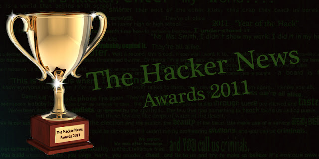 The Hacker News Hacking Awards : Best of Year 2011