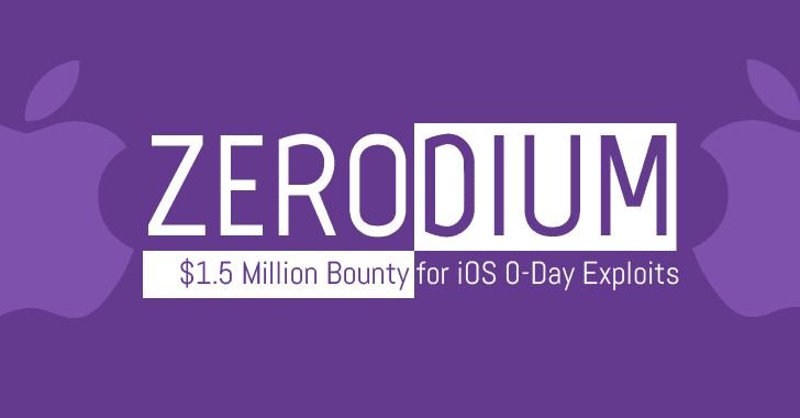 Zerodium Offers $1.5 Million Bounty For iOS Zero-Day Exploits