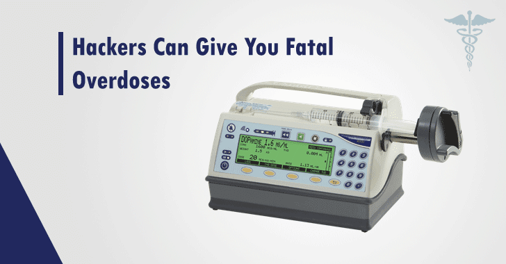 Hackers Can Remotely Access Syringe Infusion Pumps to Deliver Fatal Overdoses