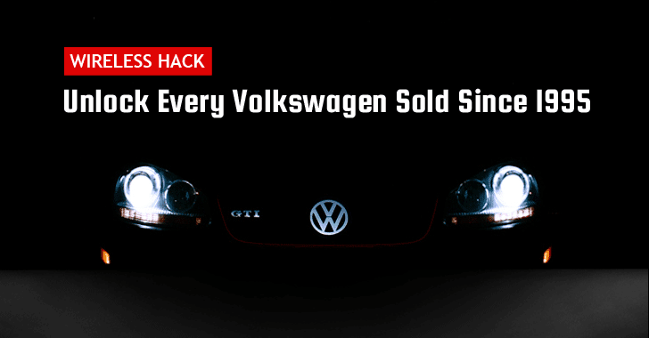 Car Thieves Can Unlock 100 Million Volkswagens With A Simple Wireless Hack