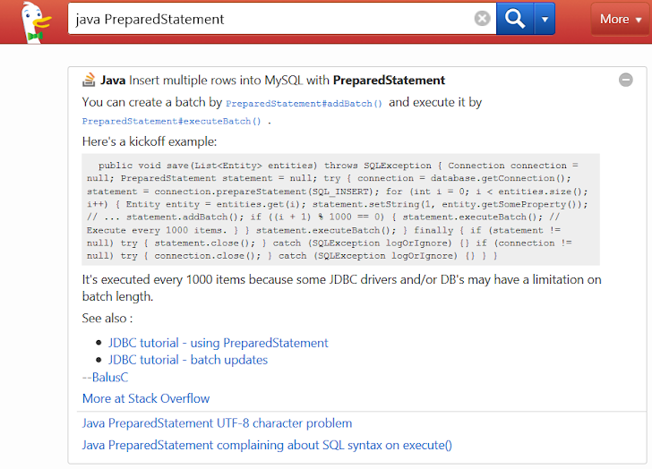 Learn How DuckDuckGo Search Engine helps you to be a Good Programmer