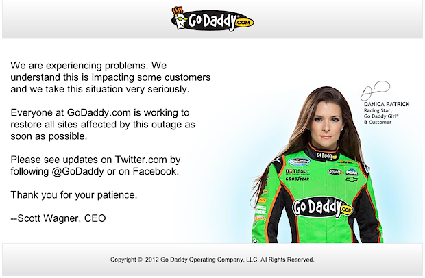 Anonymous Hacker take down GoDaddy with IRC Bots