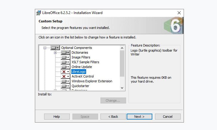 Install LibreOffice