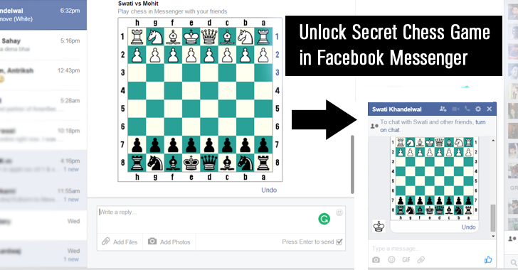 How to Unlock (and Play) Hidden Chess Game Inside Facebook Messenger
