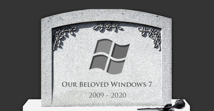 Reminder: Microsoft to end support for Windows 7 in 1-year from today