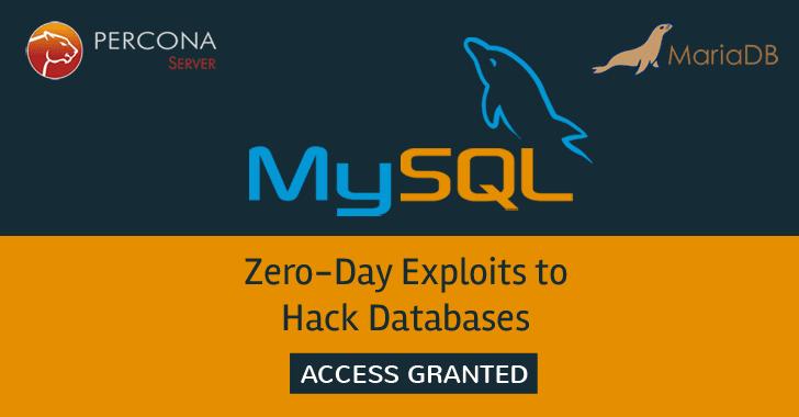 New MySQL Zero Days — Hacking Website Databases