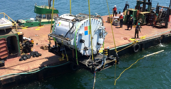 Here's Why Microsoft Drops a Cloud Data Center Under the Ocean