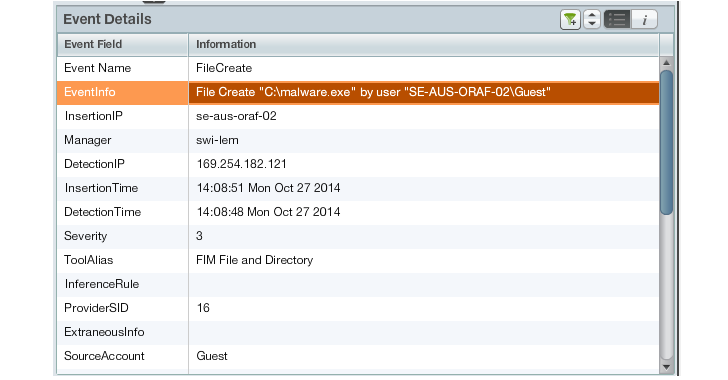 SolarWinds Log and Event Manager