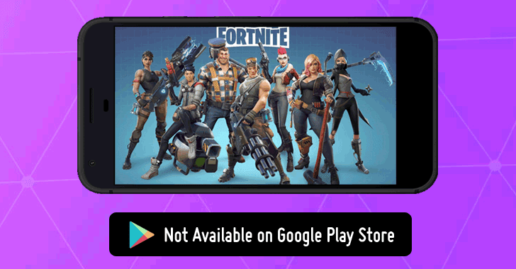 Fortnite APK Download for Android Won't Be Available on Google Play Store