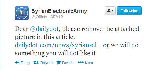 Daily Dot News portal hacked by Syrian Electronic Army with phishing attack