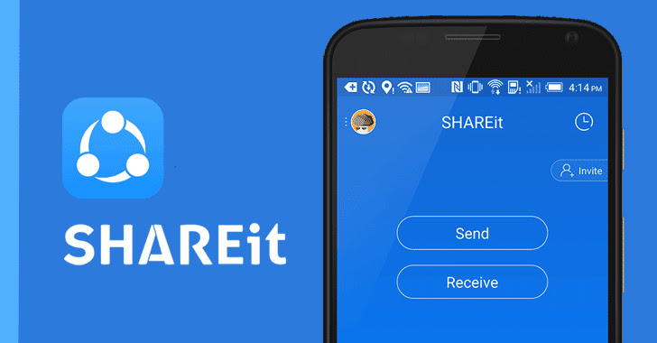 Unpatched ShareIT Android App Flaw Could Let Hackers Inject Malware