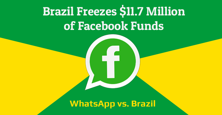 Brazil Freezes $11.7 Million of Facebook Funds for Not Complying with Court Orders