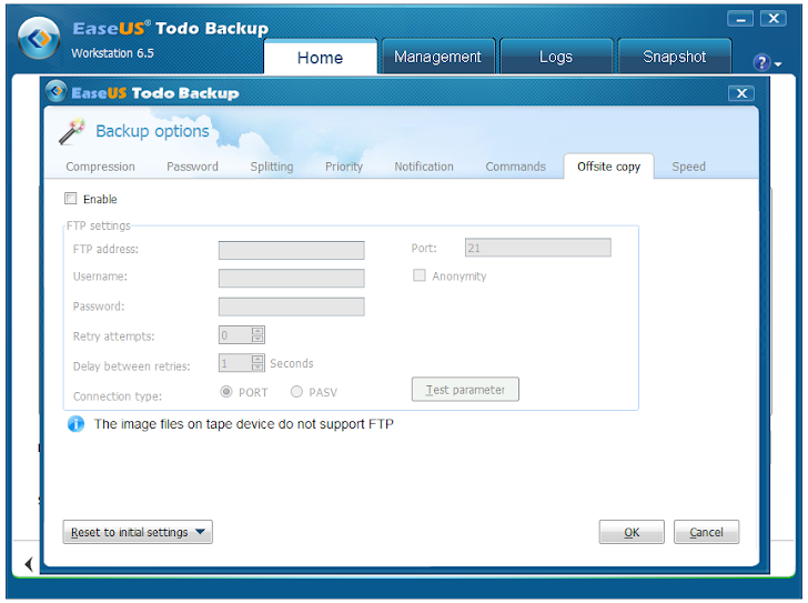 Data Backup and Recovery with EaseUS Todo Backup Workstation