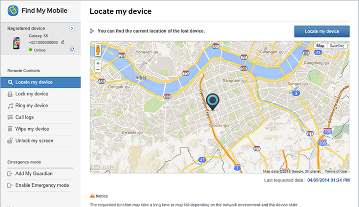 Samsung 'Find My Mobile' Flaw Allows Hacker to Remotely Lock Your Device