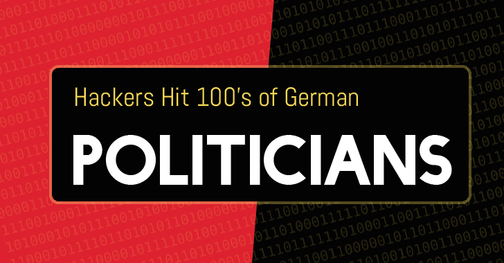 Hackers Leak Personal Data from Hundreds of German Politicians On Twitter