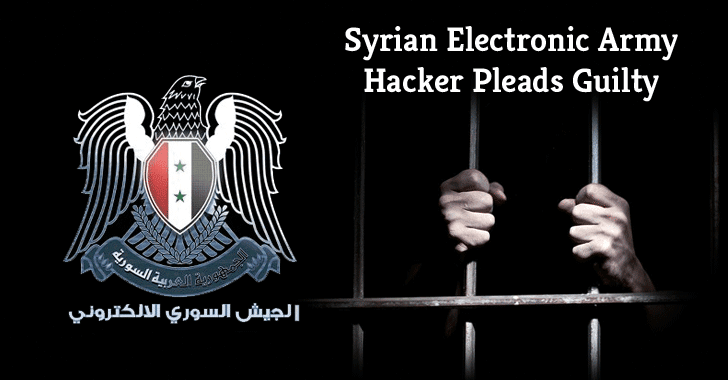 37-Year-Old 'Syrian Electronic Army' Hacker Pleads Guilty in US court