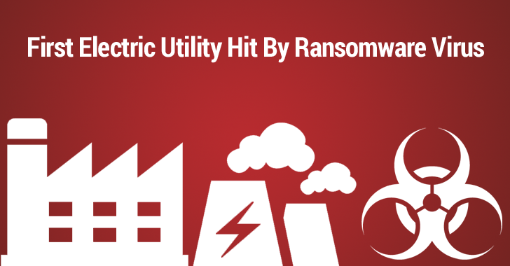 Ransomware Virus Shuts Down Electric and Water Utility