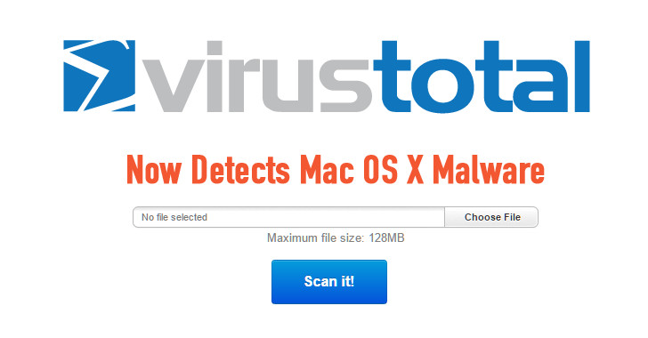 VirusTotal now Scans Mac OS X Apps for Malware