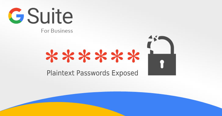 Google Stored G Suite Users' Passwords in Plain-Text for 14 Years