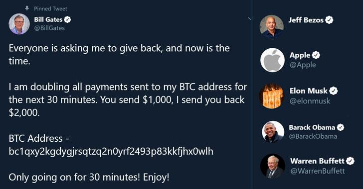Estafa de Bitcoin en Twitter