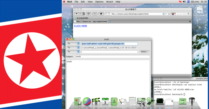 North Korea's Linux-based Red Star OS can be Hacked Remotely with just a Link