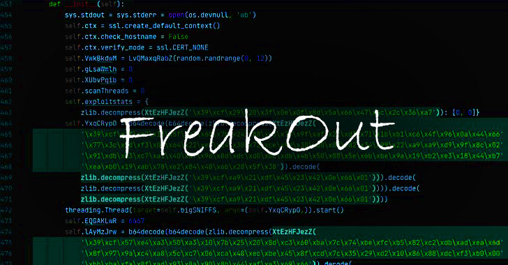 FreakOut! Ongoing Botnet Attack Exploiting Recent Linux Vulnerabilities