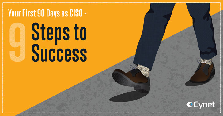 [eBook] Your First 90 Days as CISO — 9 Steps to Success