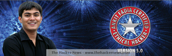 Ankit Fadia (Ethical Hacker and Cyber Security Expert) is also Not Secure !