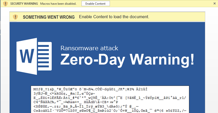Zero-Day Warning! Ransomware targets Microsoft Office 365 Users
