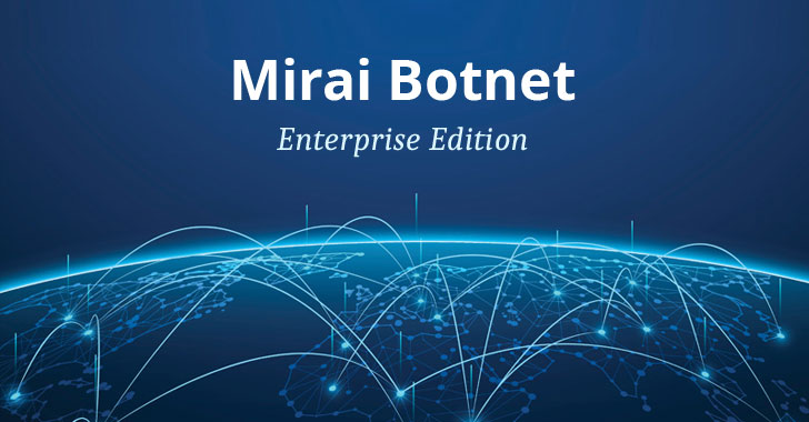 Mirai Variant Adds Dozen New Exploits to Target Enterprise IoT Devices