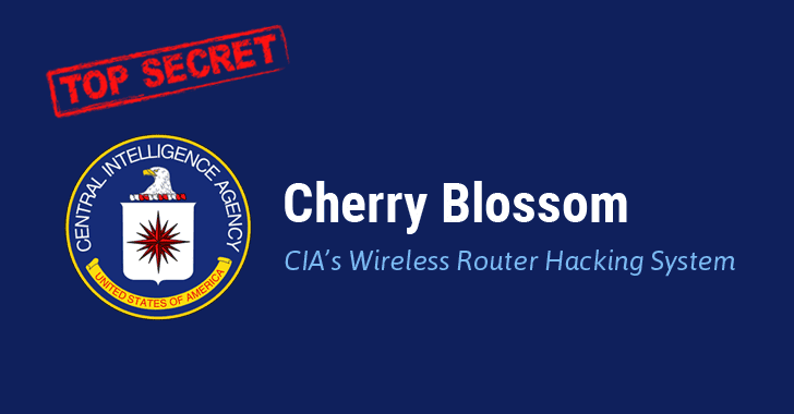 Wikileaks Unveils 'Cherry Blossom' — Wireless Hacking System Used by CIA