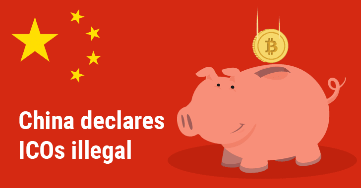 China Bans Initial Coin Offerings (ICO) Fundraising