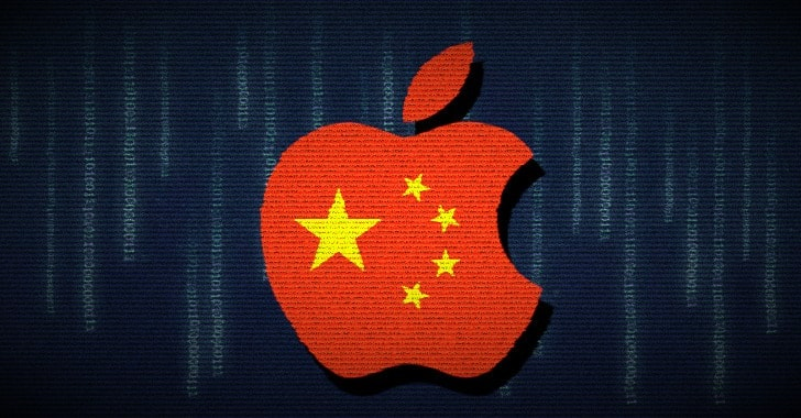 Apple Transfers Chinese Users' iCloud Data to State-Controlled Data Centers