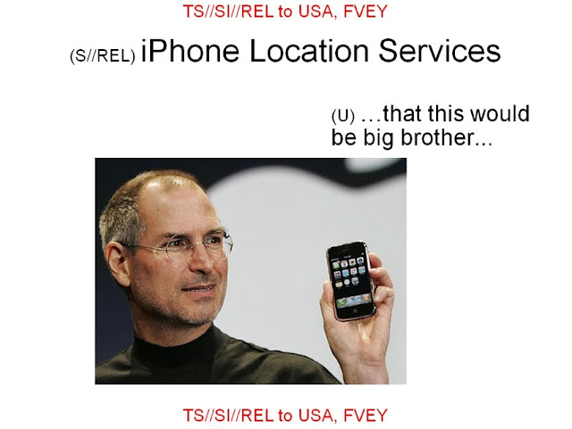 NSA: Steve Jobs is the real Big Brother and iPhone buyers are zombies