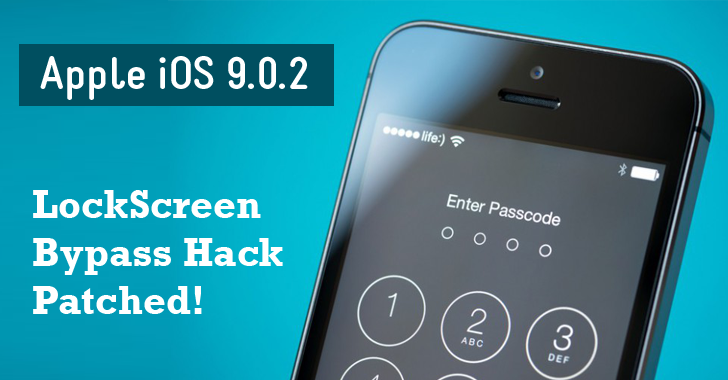 Apple Finally Fixes Lock Screen Bypass Bug in iOS 9.0.2