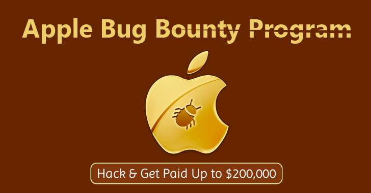 Hack Apple & Get Paid up to $200,000 Bug Bounty Reward